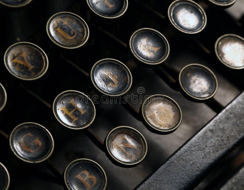 Skrivmaskin arkivfoto