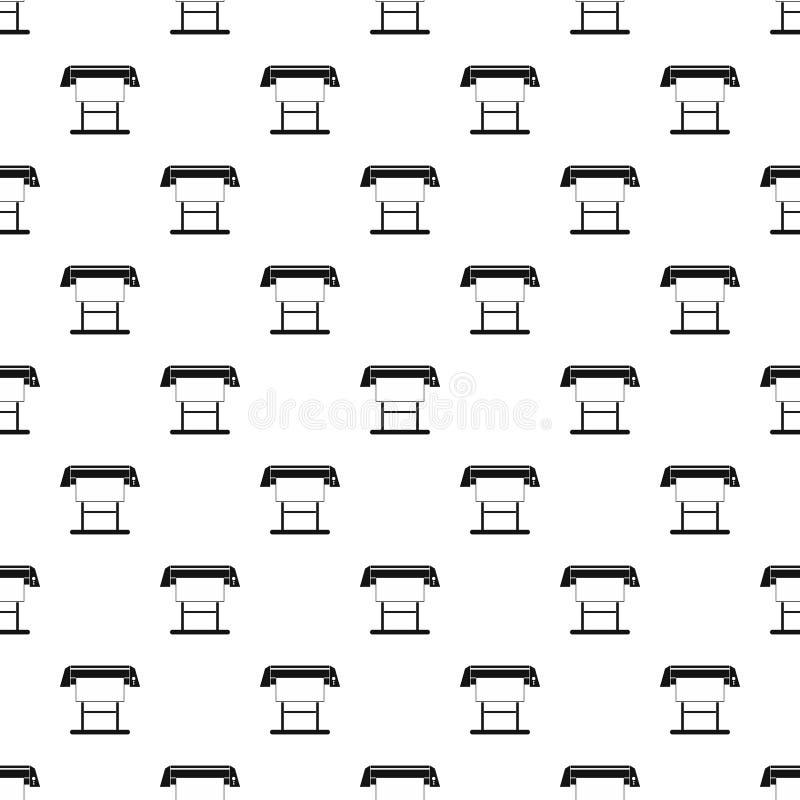 Skrivmaskinsvals för modellen för printingmaskiner, enkel stil vektor illustrationer