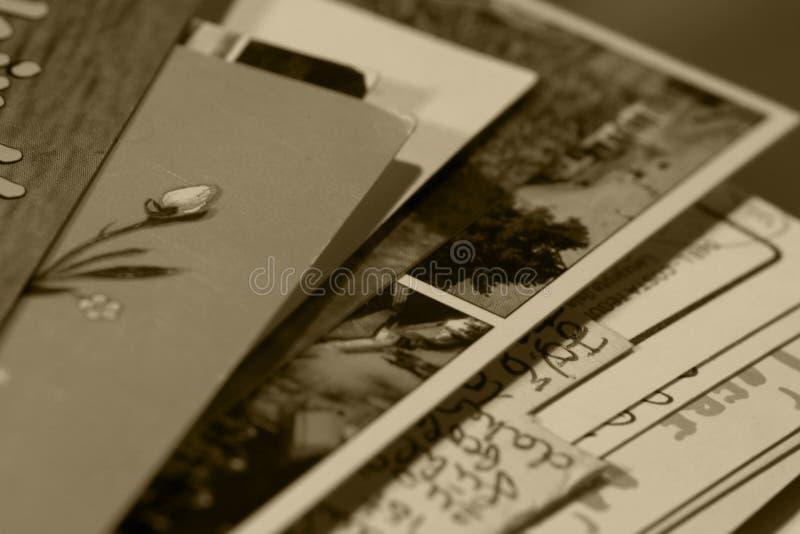 skrivna minnen royaltyfria bilder