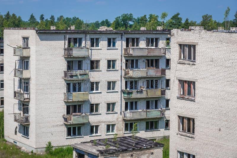 Skrunda in Lettonia fotografia stock libera da diritti