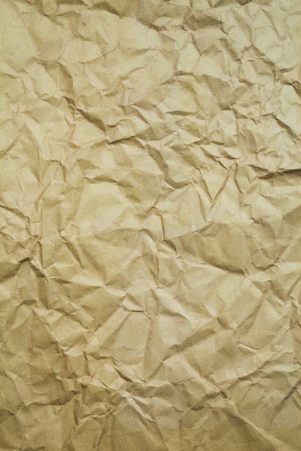 skrynkla gammal paper textur arkivfoto