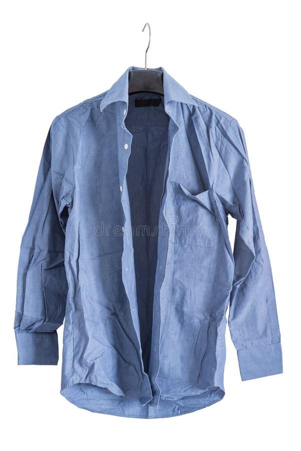 Skrynklig skjorta arkivfoton