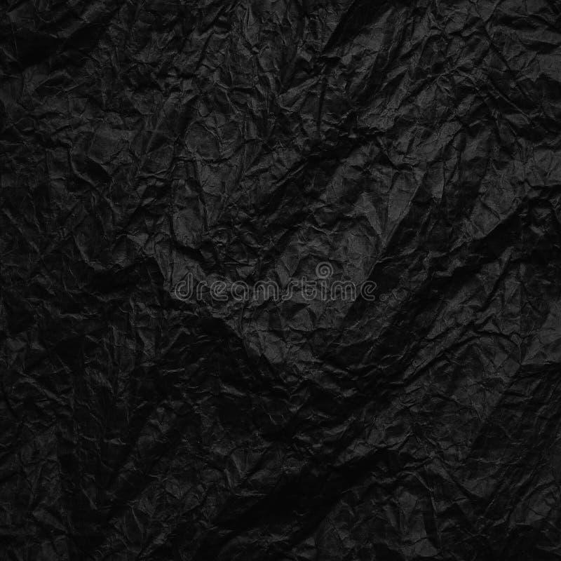 skrynkligt kraft papper Textur skrynklade återanvänt brunt papper fotografering för bildbyråer