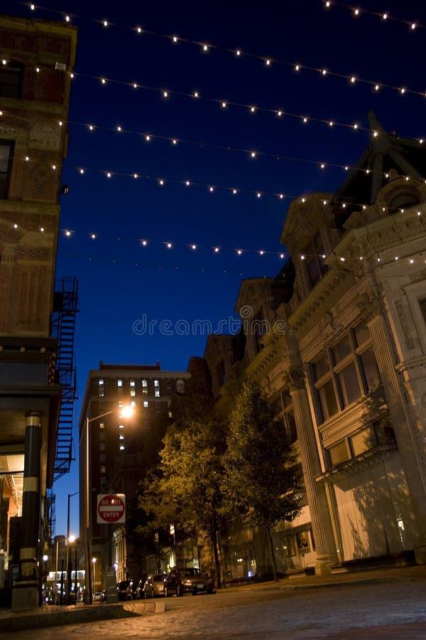 skrzętności ulice miasta zdjęcia stock