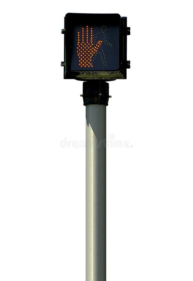 Skrzyżowanie Sygnału Zdjęcie Royalty Free