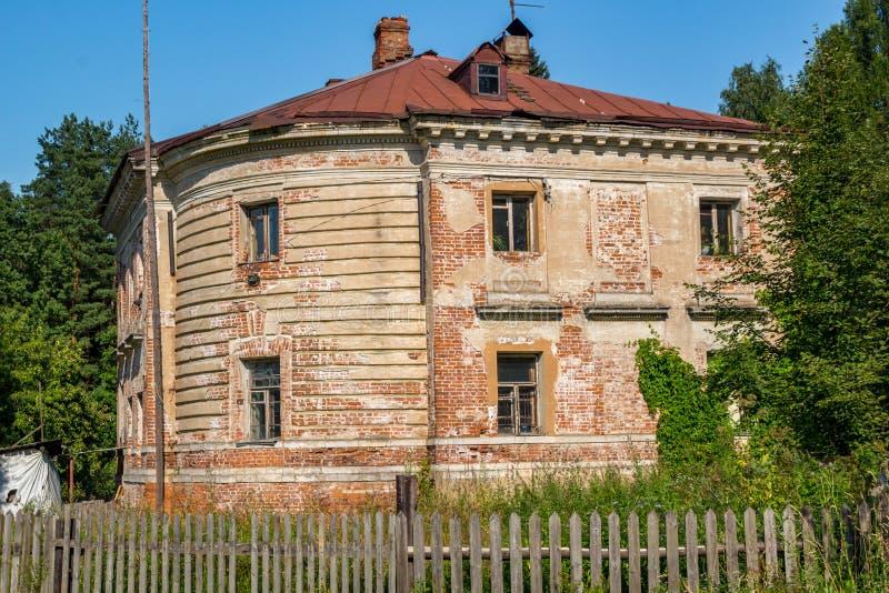 Skrzydła Petrovskoe-Alabino rezydencja ziemska zdjęcia stock