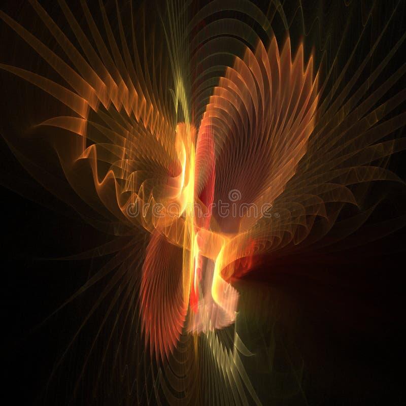 skrzydła motyla ilustracja wektor