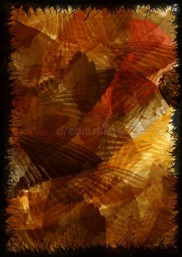skrzydła ruchu ilustracja wektor