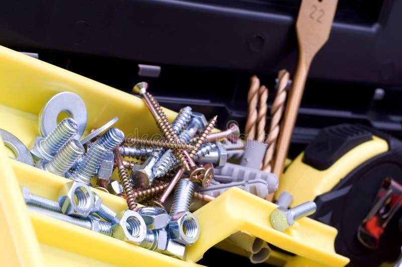 skrzynkę narzędzi obrazy stock