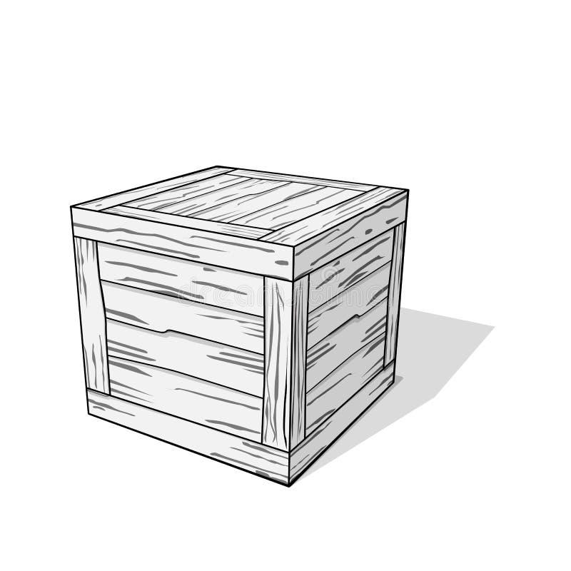 skrzynka ilustracji