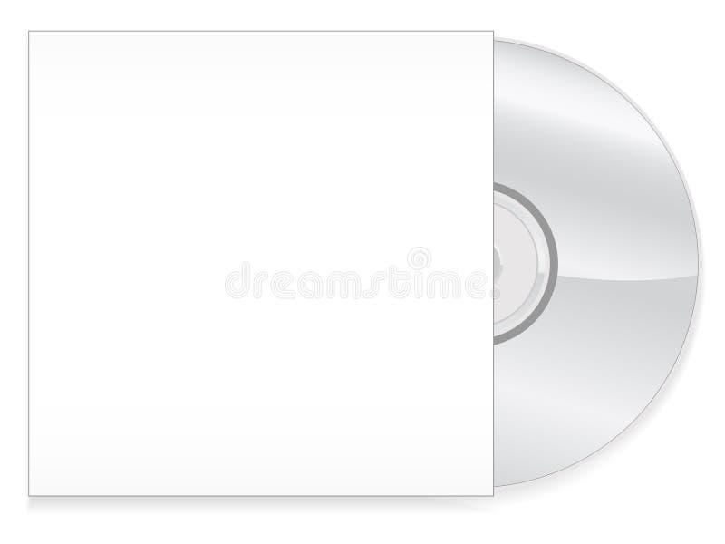 skrzynka cd eps ilustracja wektor