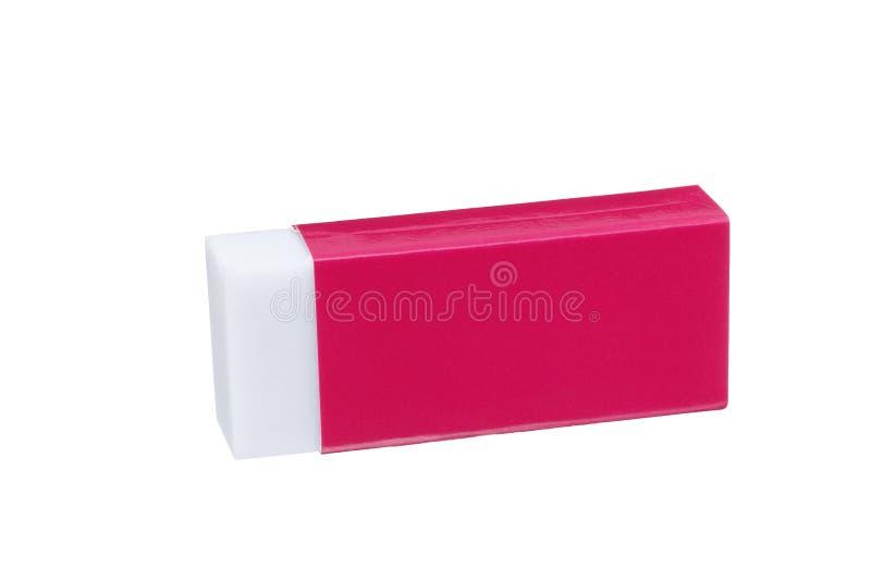 skrzynka gumki czerwień obrazy stock