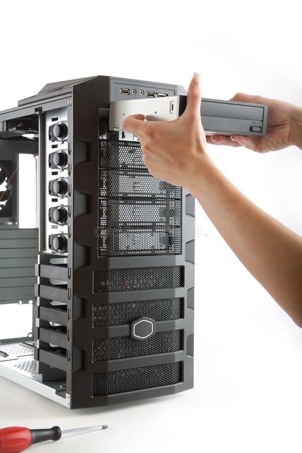 skrzynka komputeru komputer stacjonarny zdjęcie royalty free