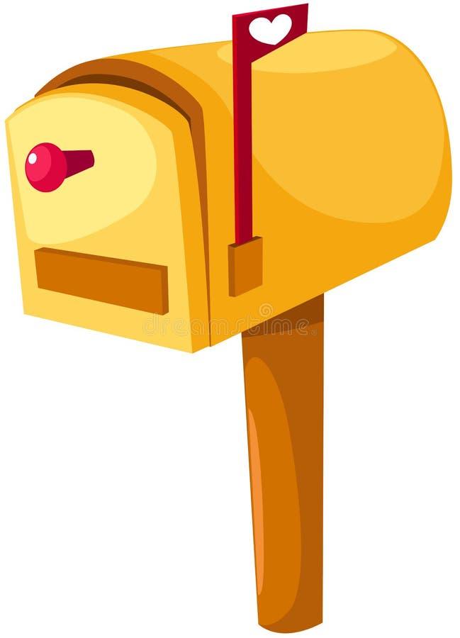 skrzynka pocztowa royalty ilustracja