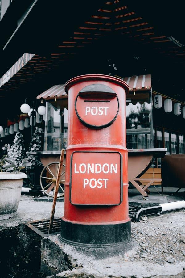 skrzynka pocztowa, pontianak, kalimantan barat, indonezja zdjęcie stock