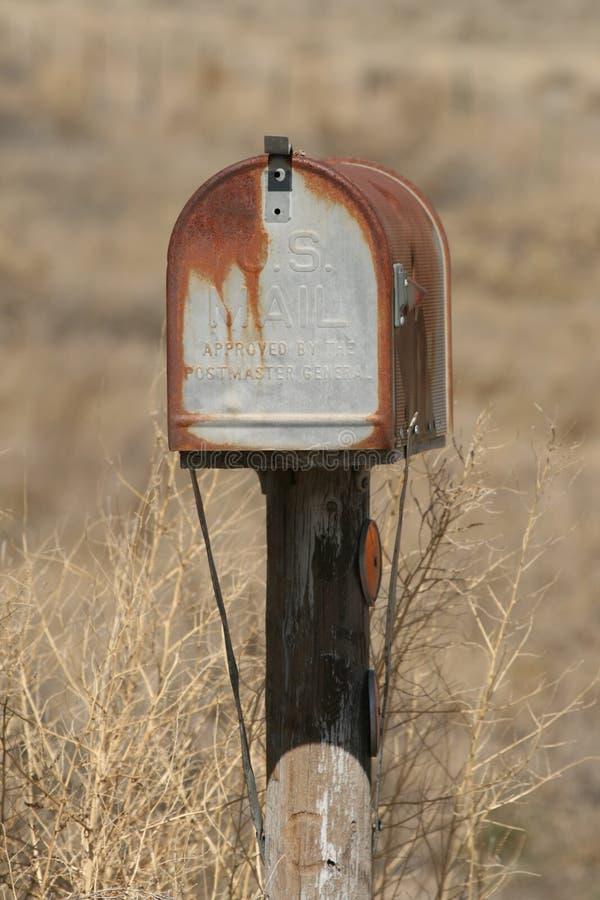 skrzynka pocztowa stara zdjęcia royalty free