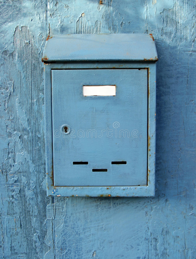 skrzynka pocztowa stara zdjęcia stock