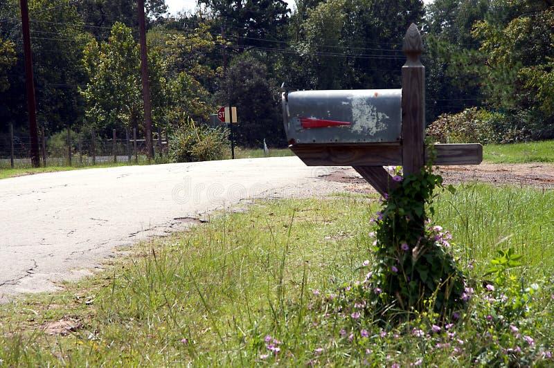 skrzynka pocztowa wiejskiej kraju obrazy stock