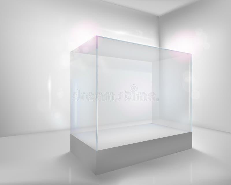 skrzynka pokazu ilustraci wektor ilustracja wektor