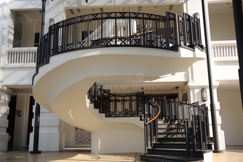 Skrzynka schodowy Foyer obrazy royalty free
