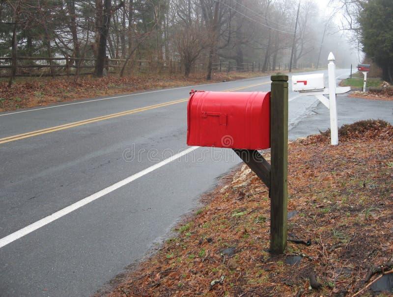 skrzynki czerwony zdjęcie stock