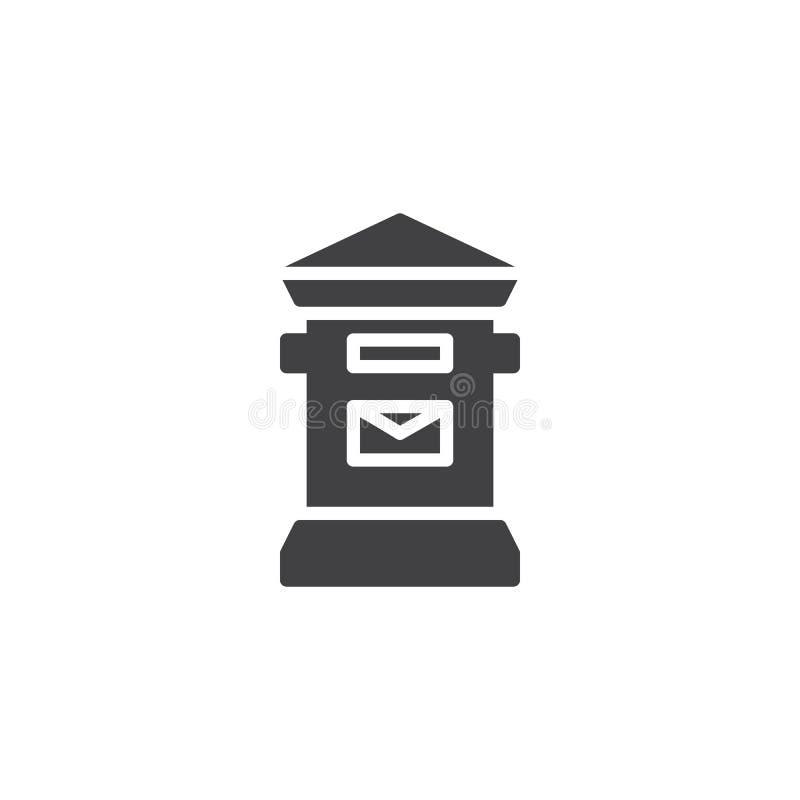 Download Skrzynki Pocztowa Ikony Wektor Ilustracja Wektor - Ilustracja złożonej z piksel, postage: 106919647