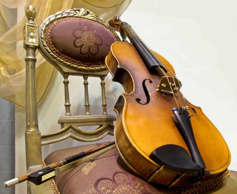 skrzypce. zdjęcie stock