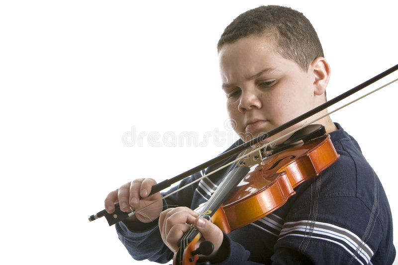 skrzypce gracza zdjęcie royalty free