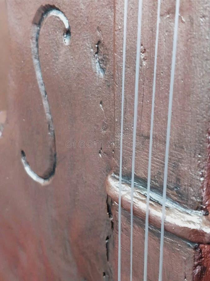 skrzypce od tynku zdjęcie stock