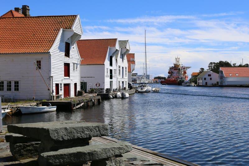Skudeneshavn, Noruega imagem de stock royalty free
