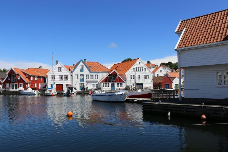 Skudeneshavn, Noruega imagens de stock