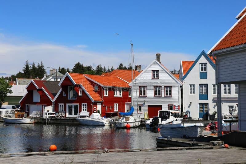 Skudeneshavn, Noruega fotografia de stock