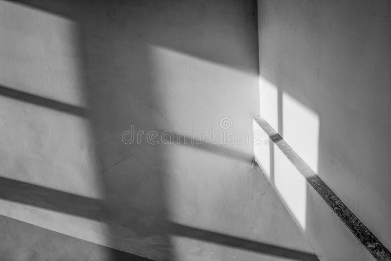 Skuggor trappa arkivbilder