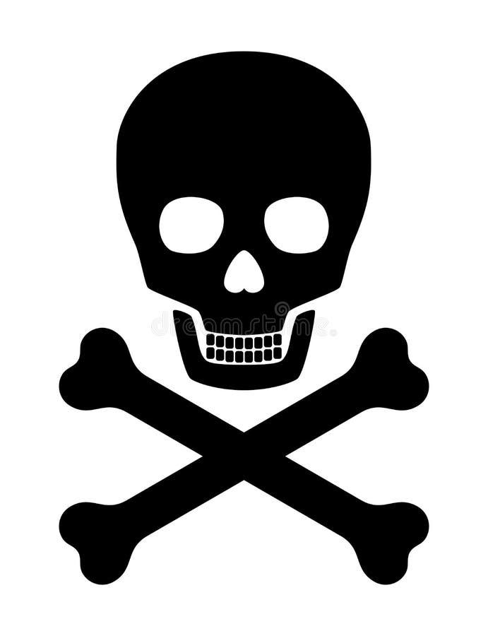 Download Skull stock vector. Image of risk, scary, poison, horror - 10686942