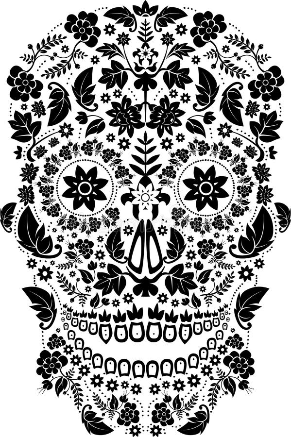 Download Skull stock vector. Image of pirate, tattoo, skull, drawing - 16785122
