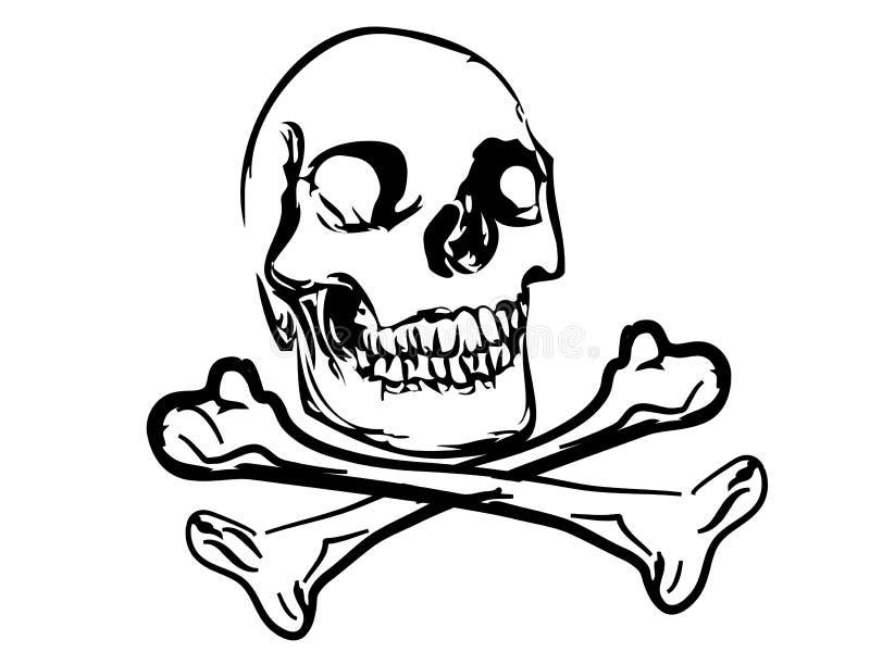 Download Skull stock vector. Illustration of background, threatening - 23170503