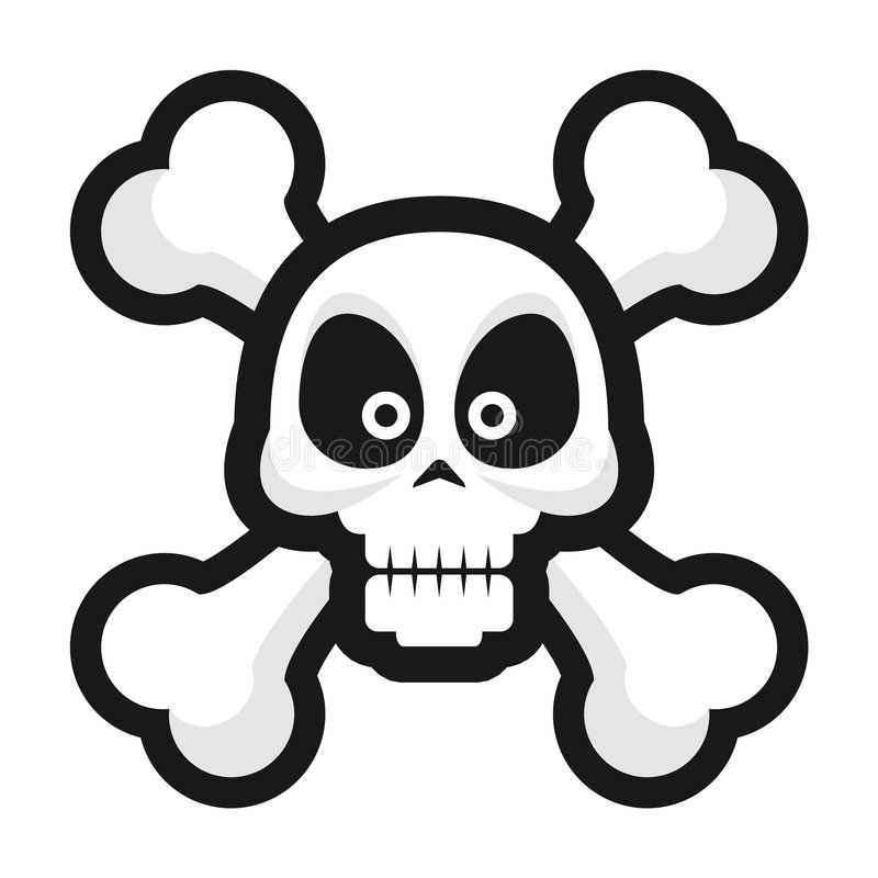 Skull stock photography