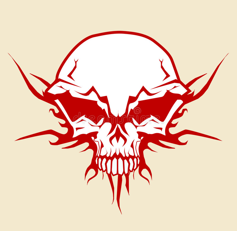 Download Skull stock vector. Image of backgrounds, military, graphics - 5945619