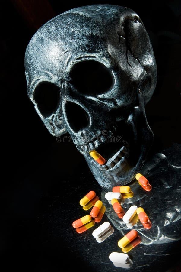 Download Skull stock photo. Image of capsules, addiction, human - 6906724