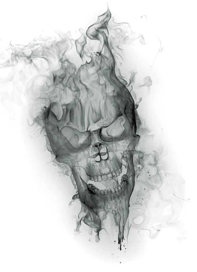 Skull stock illustration