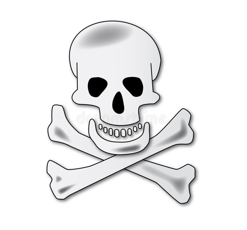 Skull (AI format available) vector illustration