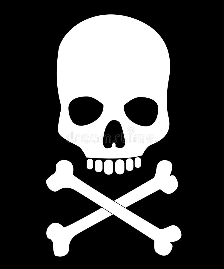 Free Skull And Bones Royalty Free Stock Images - 33218489
