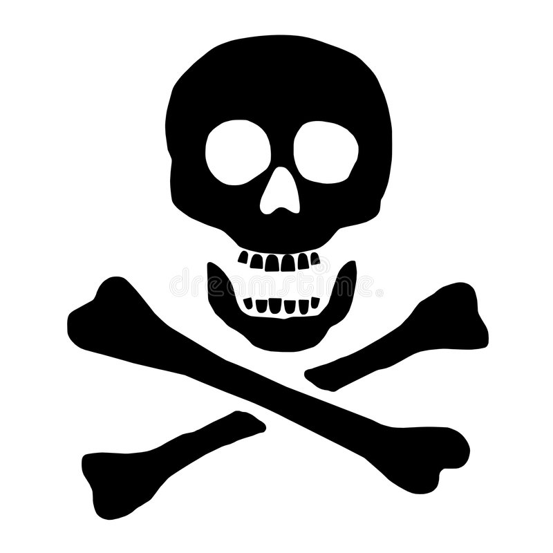 Free Skull And Crossbones Stock Image - 6244221