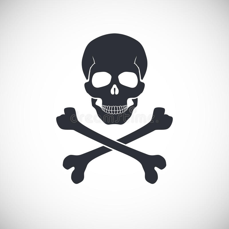 Free Skull And Crossbones Sign. Stock Photos - 53895163