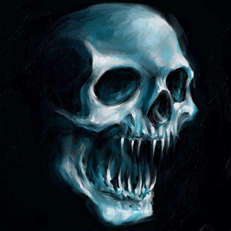 Download Skull Banger 7 stock illustration. Illustration of wacom - 90742365