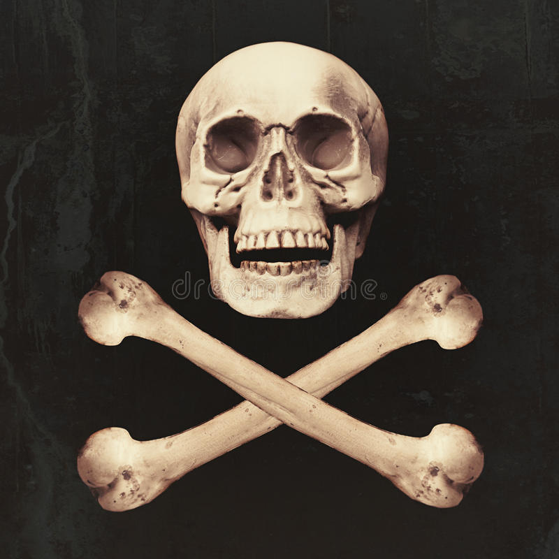 Free Skull & Crossbones Royalty Free Stock Photos - 77550338