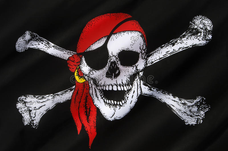 Download Skull And Crossbones Flag - Jolly Roger Editorial Image - Image of standard, jolly: 38485550
