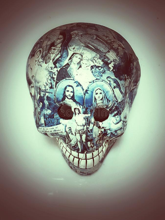 Skull. Day of deaths. Tradition, mexico, mexican royalty free stock images