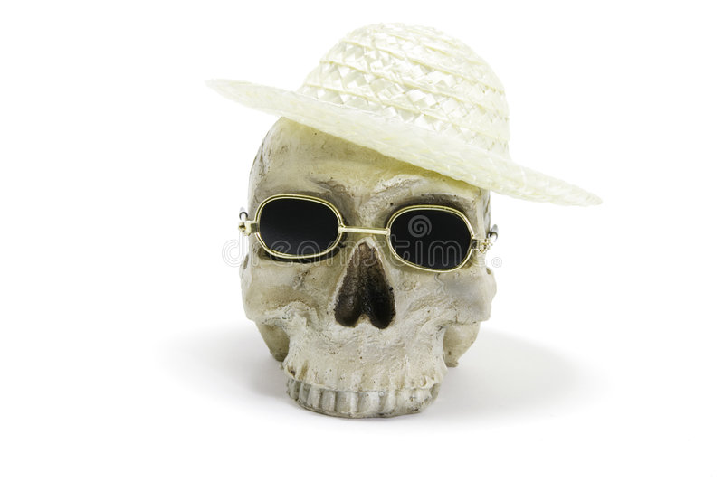 Download SKull With Hat And Sunglasses Stock Photo - Image: 3684582