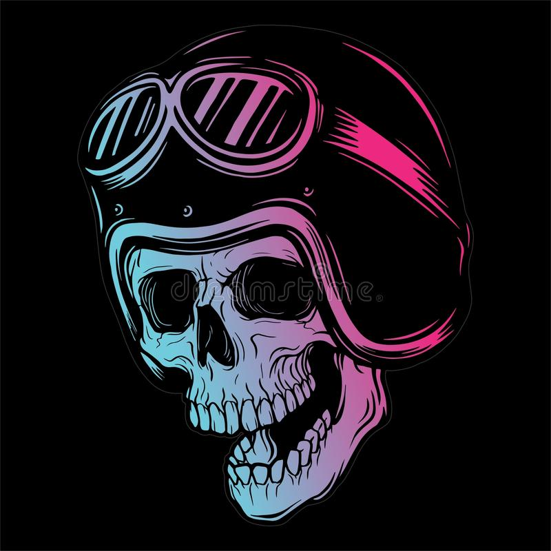 SKULL HEAD 3 VECTOR IMAGE vector illustration